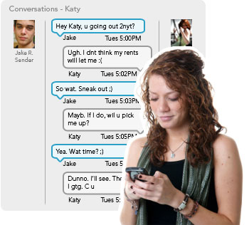 Cheating spouse text messages