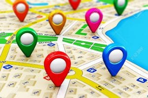 What are the 3 ways to track mobile location