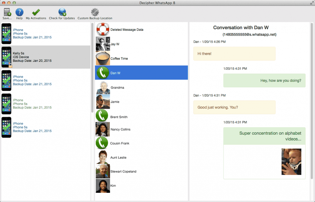 Method 2: How to Hack WhatsApp via Access Database (Rooted)