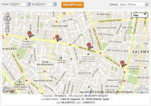 Way 1: To track GPS location iPhone using The Truth Spy app