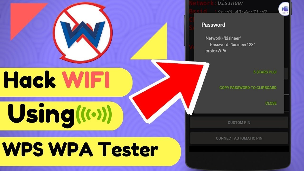 android hack wifi online