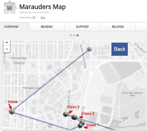 Way 3- Marauders Map