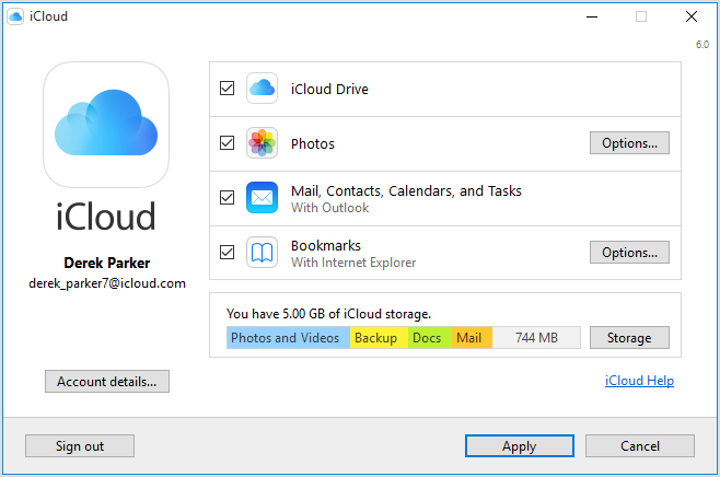 Track the iPhone using iCloud