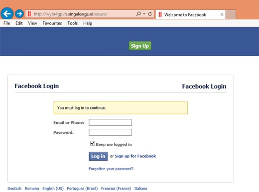 Hack Facebook Account using Phishing