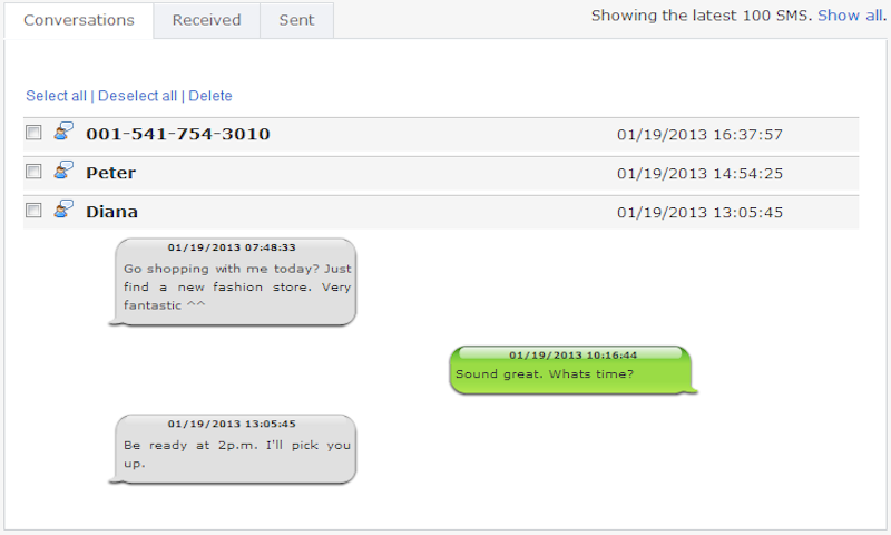 Free SMS Tracker